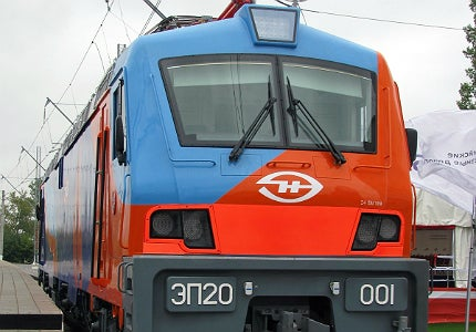 In November 2012, TMH and Alstom handed over the first series production EP20 electric passenger locomotive to RZD