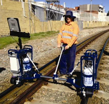 London Rail Goes Australian in Portable Ultrasonic Testing