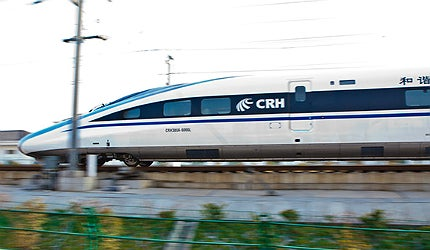CRH380-AL rolling stock was selected for operations