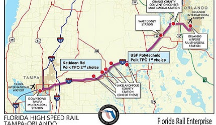 Florida High-Speed Rail - Railway Technology