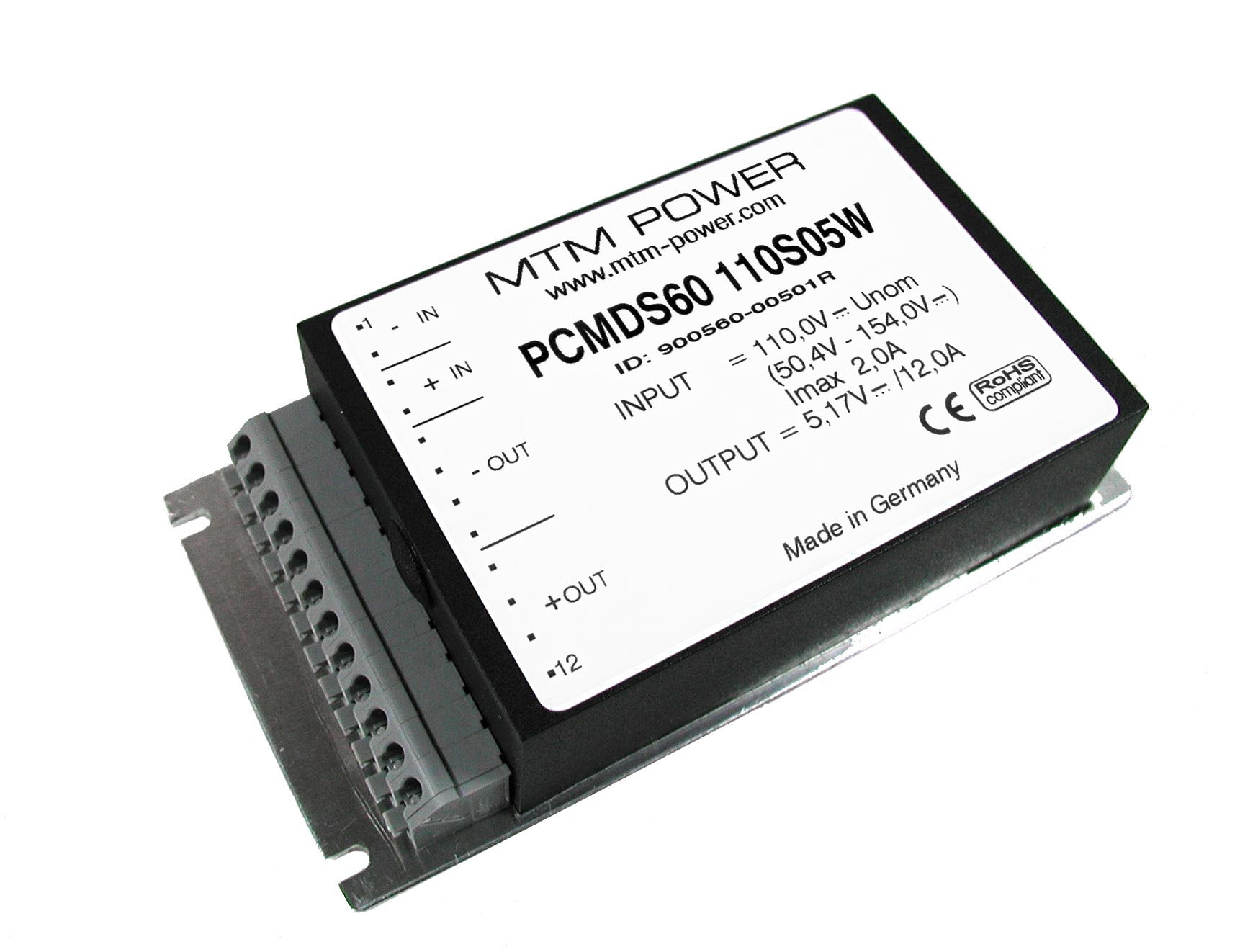 Series PCMDS60W: Flat and Compact