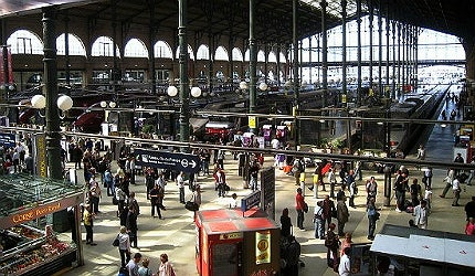 Gare du Nord is Europe's busiest railway station by total passenger numbers
