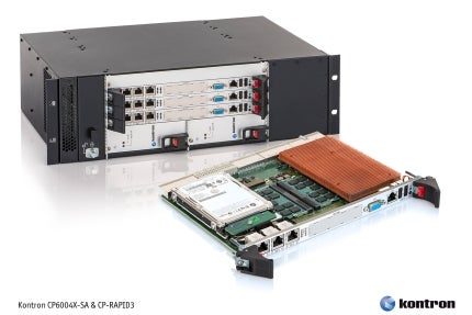 Kontron 6U CompactPCI Processor Board and Chassis Innovation Provide an Industry First with 10 GbE System Throughput
