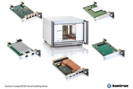 Kontron's Systems Expertise Expanded with the Launch of a Family of Pre-Integrated CompactPCI Serial Building Blocks
