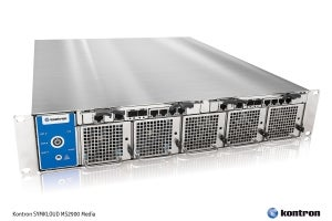 Kontron Drives Costs Down and Performance Densities Up  for Content Delivery Applications in the Cloud