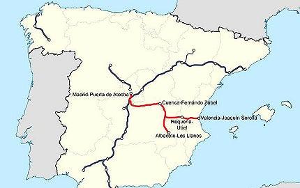 Madrid-Levante High Speed Railway Line, Spain