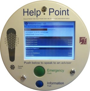 The New Multi-touch Interactive Help Point from TDM