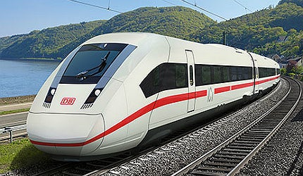 Siemens ICx is a next generation high-speed train
