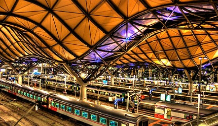 Southern Cross Station Redevelopment Project, Melbourne, Australia trains railway station transport