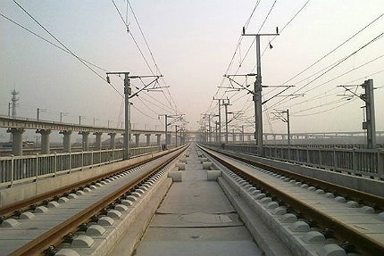The longest high speed rail networks in China
