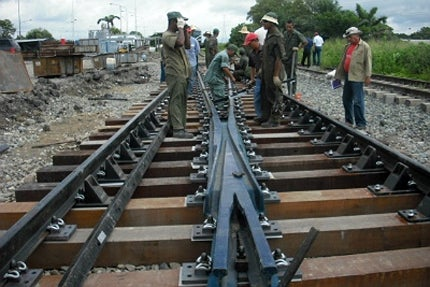 The Tinaco-Anaco railway line project is an element of the National Rail Development Plan
