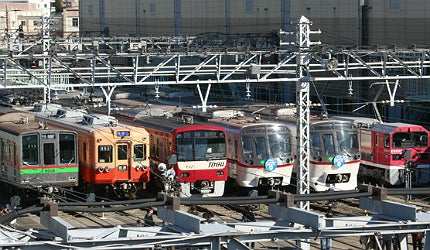 Toei subway trains