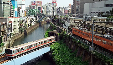 Capital city of Japan's Metro
