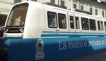 Brescia Driverless Metro System