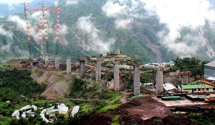 Chenab Bridge, Jammu & Kashmir