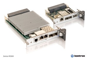 New 10/40 Gigabit Ethernet Switch from Kontron Enhances Data Throughput in Network-Centric OpenVPX Applications