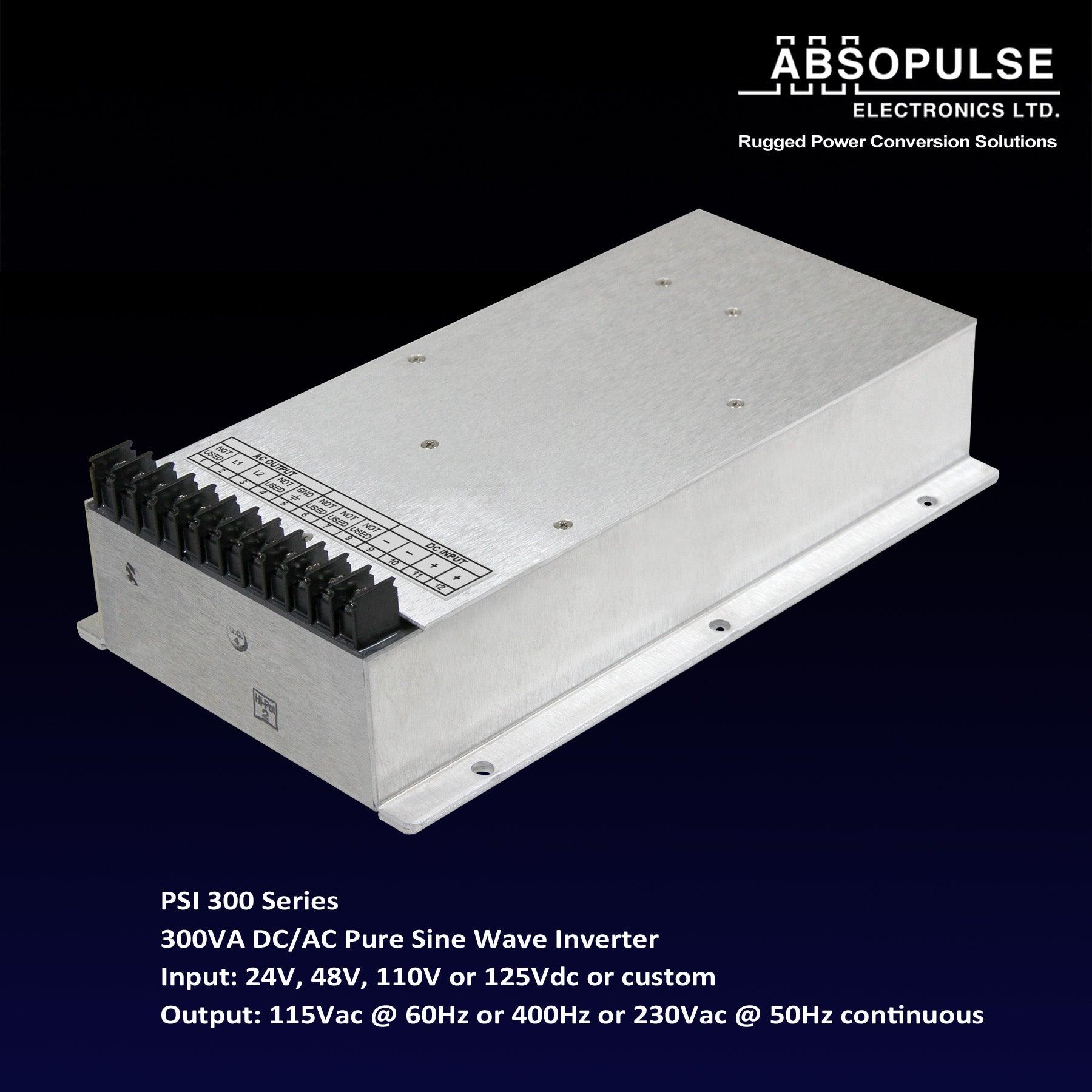 300VA Encapsulated Pure Sine Wave Inverter Suits Severe Environments