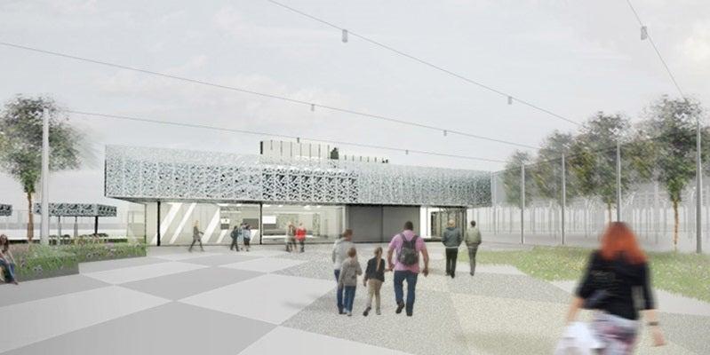 Cambridge New North Railway Station