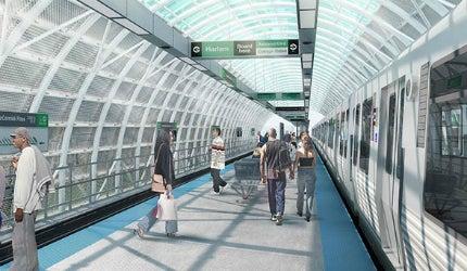 Cermak station, Chicago