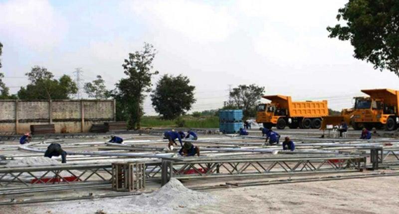 China-Thailand railway line under construction