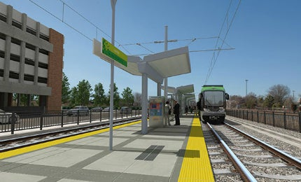 Travel time between UNC Hospitals and Alston Avenue will be considerably reduced by the new light rail project.