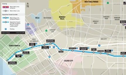 Exposition Transit Corridor