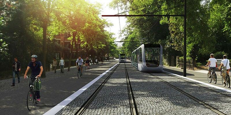 Lund tramway