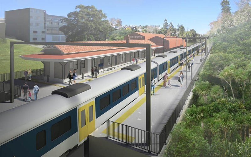 Parnell Railway Station