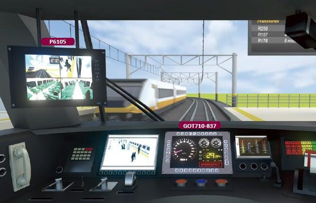 Axiom train control system