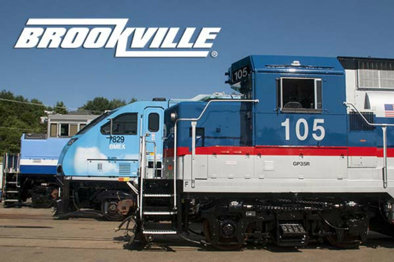 Brookville streetcar and locomotive restoration