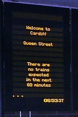 passenger information LED displays