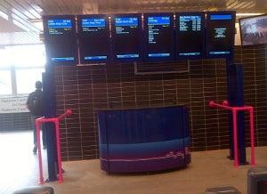 rail digital displays