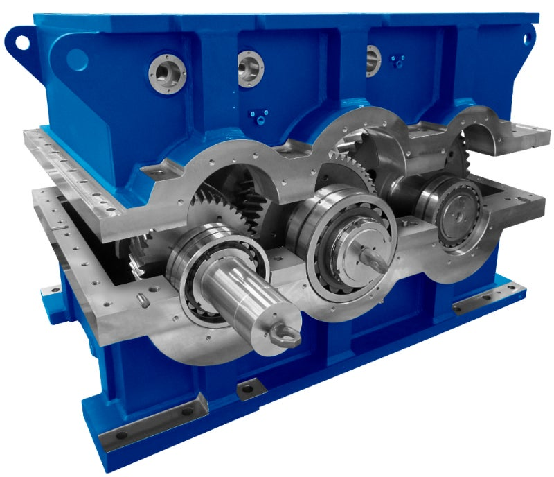 Blue Gearboxes