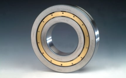 Production plant combined rolling bearings