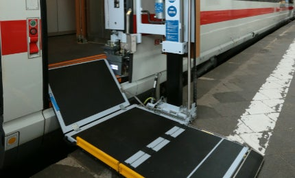 Train Lift Access System