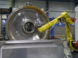 NDT wheel