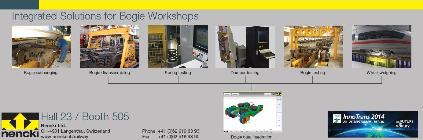Bogie workshop