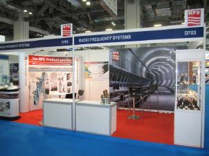 Radio Frequency Systems Booth