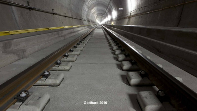 Track insulation materials for railway lines