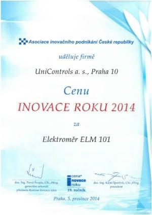 Unicontrols 2014 Innovation Award