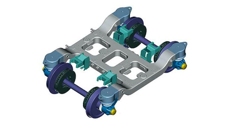 Engineered components for bogies, couplers, drawgear, and brake discs.
