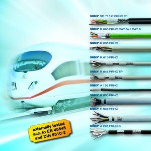 SAB railway cable