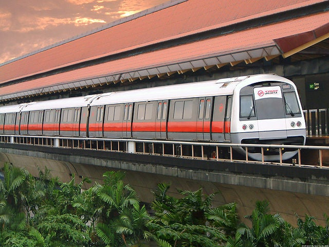 East West Line in Singapore