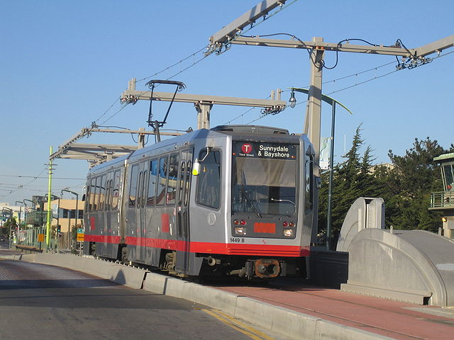 Third Street light rail