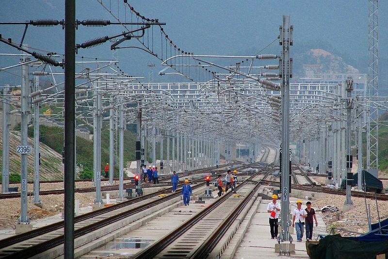 Guangzhou-Shenzhen-Hong Kong High-speed Railway