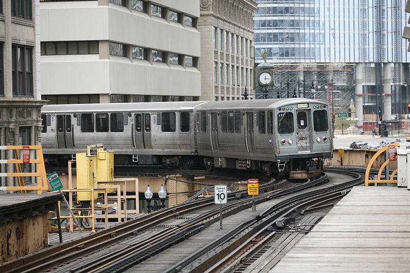 CTA Green Line train