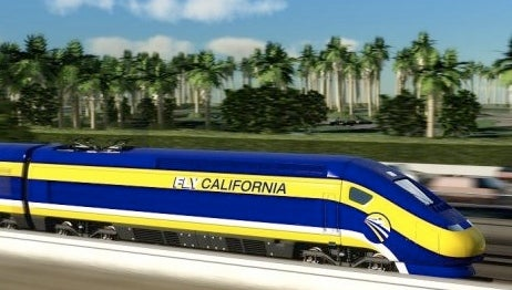 California Hig Speed Rail-Brown
