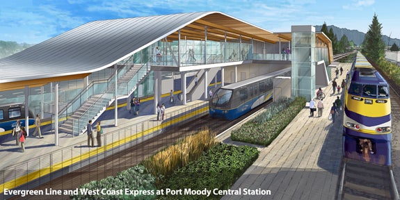 Evergreen Line - Port Moody WCE