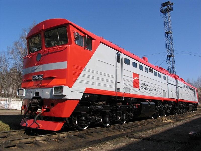 Globaltrans locomotive