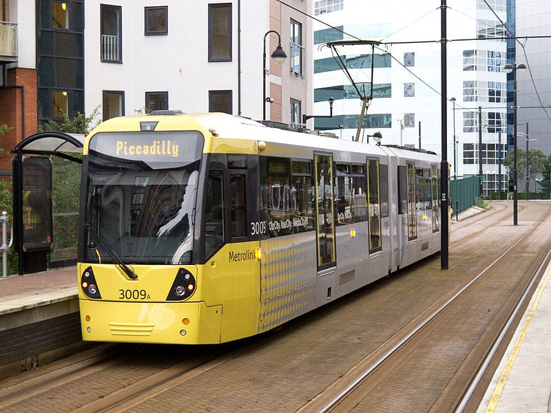Greater Manchester_Metrolink tram
